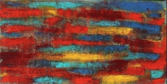 "Color Grinders, 2011 Mixed Media 24""x48"""