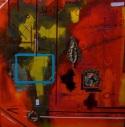 "Fragments, 2011 Mixed Media 36""x36"""