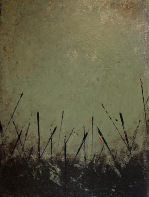 """Lakeside, 2012 Mixed Media 30""""x40"""""""