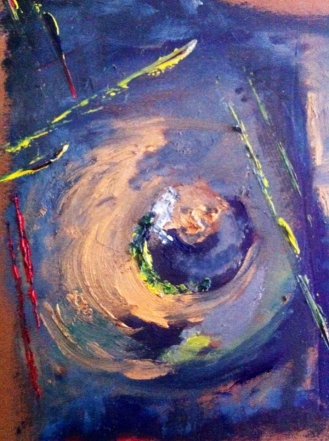 """Oil on Paper 5""""x7"""""""
