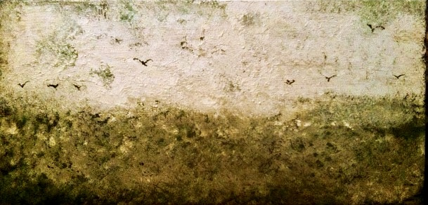 Gullscape, 2012 Oil on Canvas