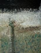 "The Veil, 2012 Mixed Media 36""x48"""